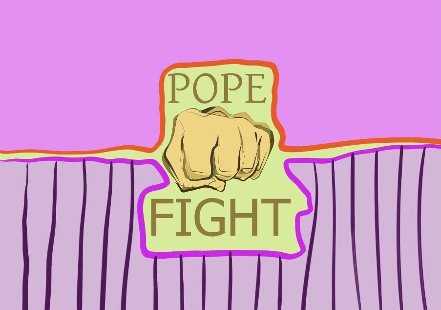 lovitura papală